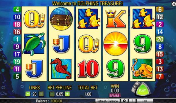 สล็อตออนไลน์ Dolphin Treasure รีวิวสล็อตที่กำลังเป็นที่นิยมของวงการคาสิโน