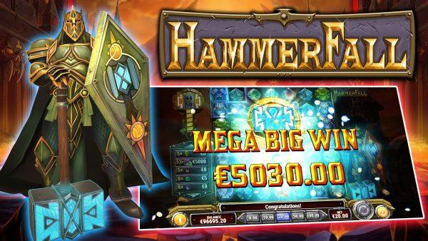 Hammerfall แนะนำสล็อตออนไลน์ ใหม่ล่าสุดเดือนนี้